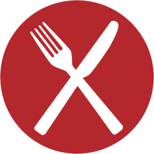 Icon of fork and knife!
