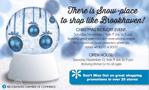 Brookhaven Mississippi Christmas Open House