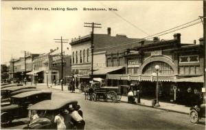 historical photo of Brookhaven Mississippi