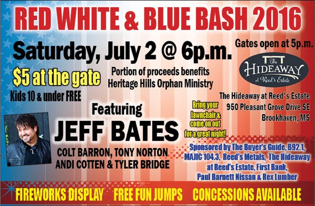 Red White & Blue Bash 2016