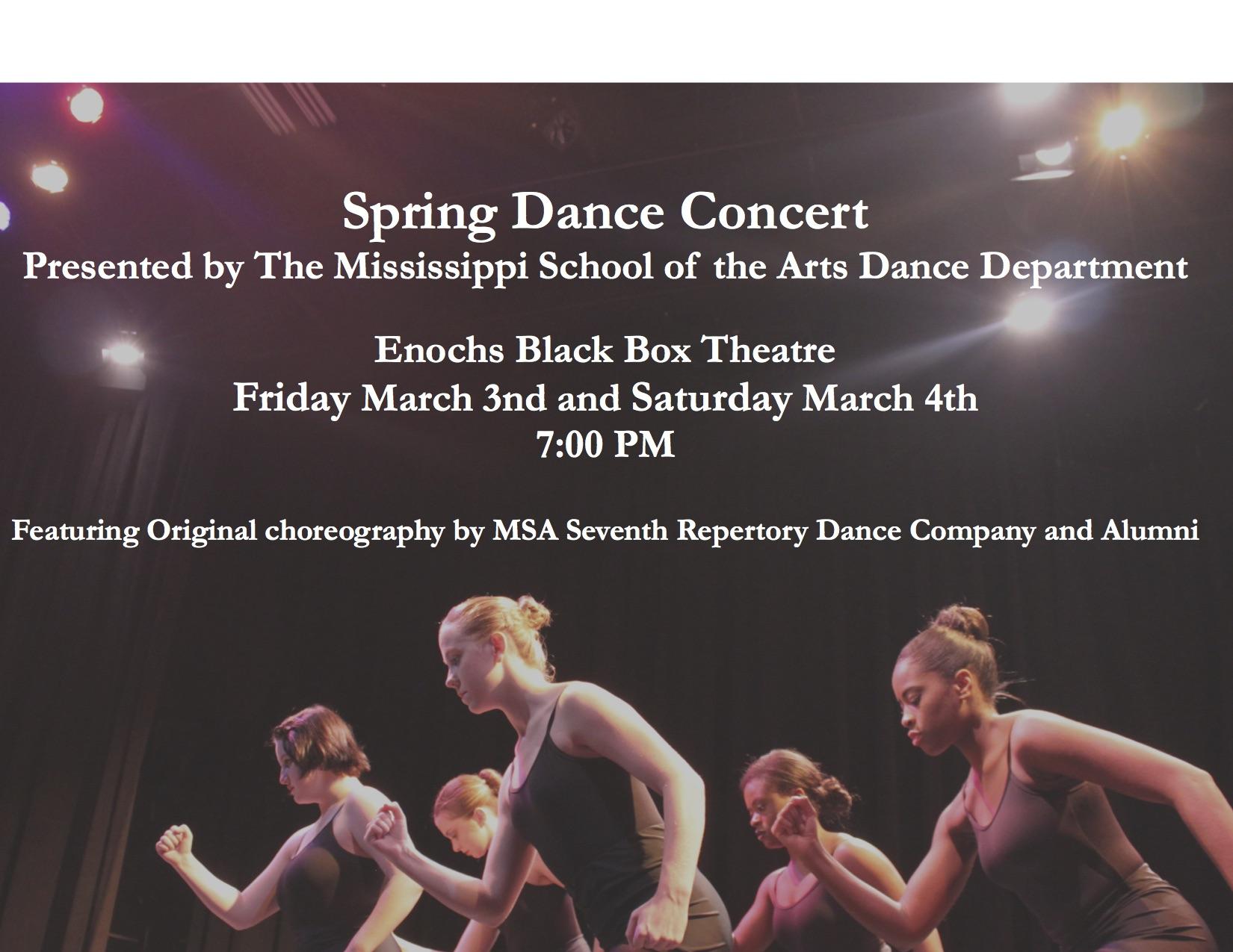 Spring Concert 2017 Concert Flyer